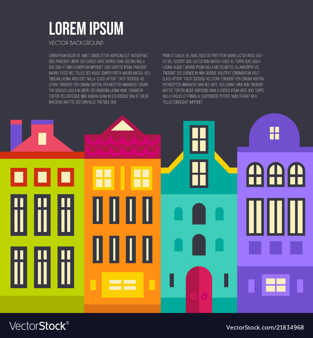 Amsterdam skyline text