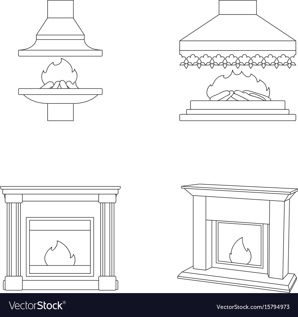 Fire warmth and comfortfireplace set collection