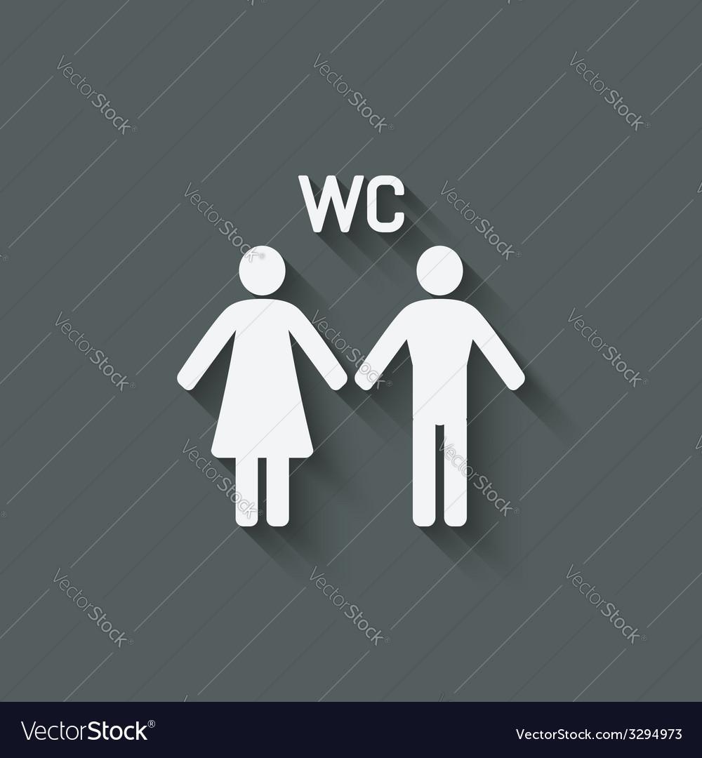 WC male and female symbol