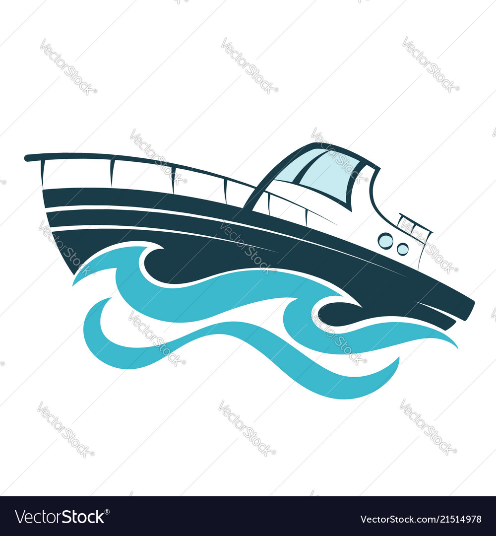 Boat on the wave