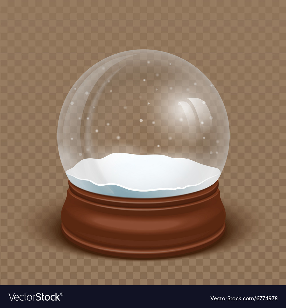 Realistic Snow globe