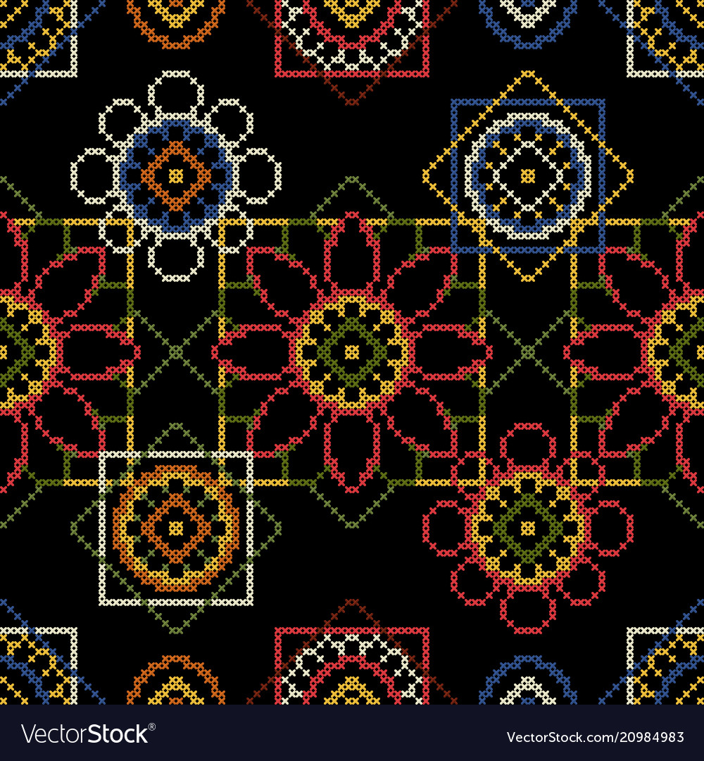 Background for cross stitch scrapbooking and