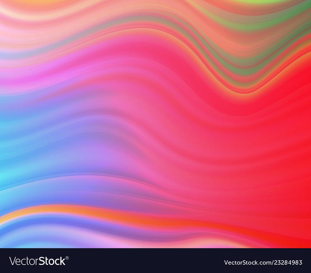 Colorful flow poster wave liquid shape