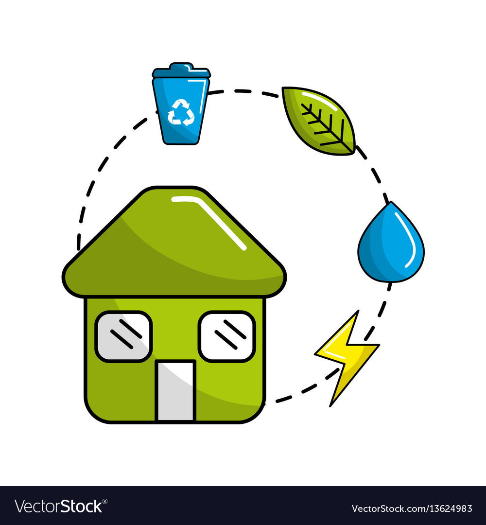 Reduce reuse and recycle icon vector image