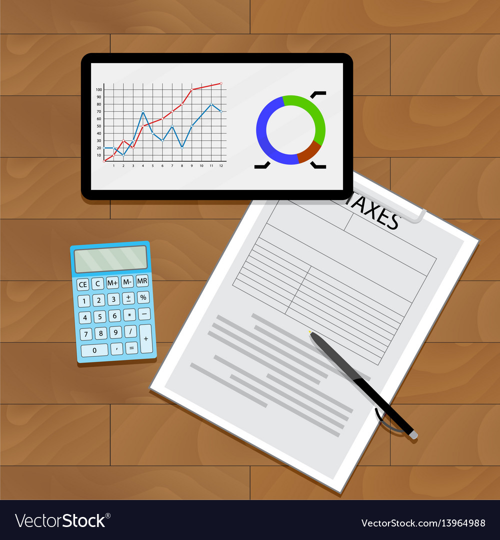 Graph chart and taxes