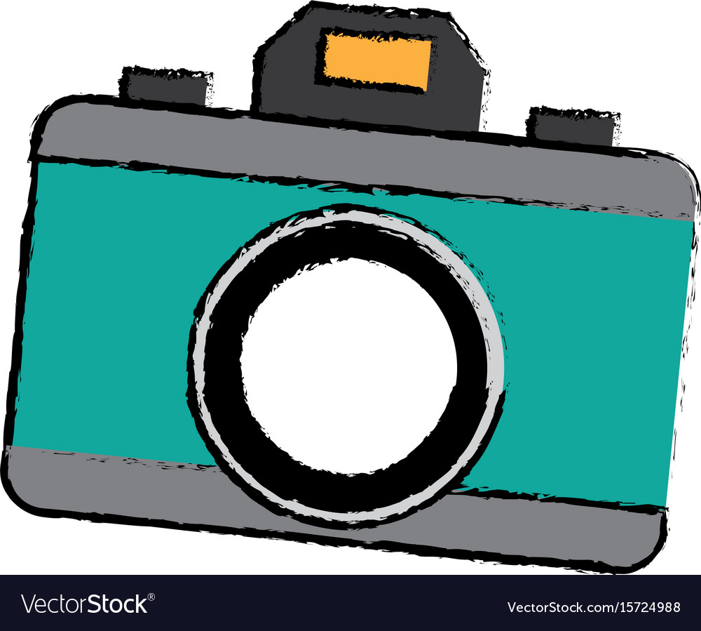 Photo camera device picture lens flash icon