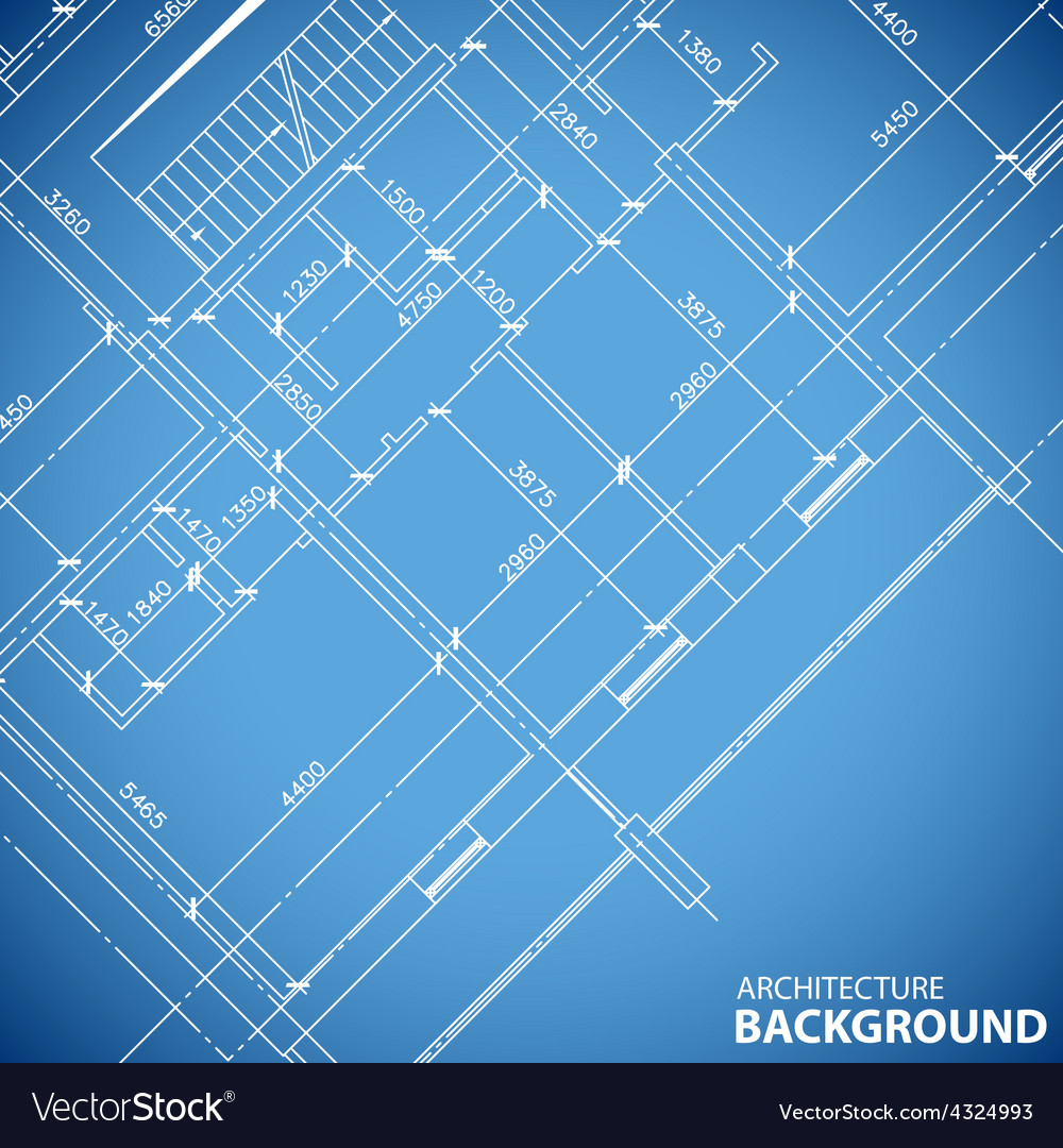 Blueprint building structure royalty free vector image blueprint building structure vector image malvernweather