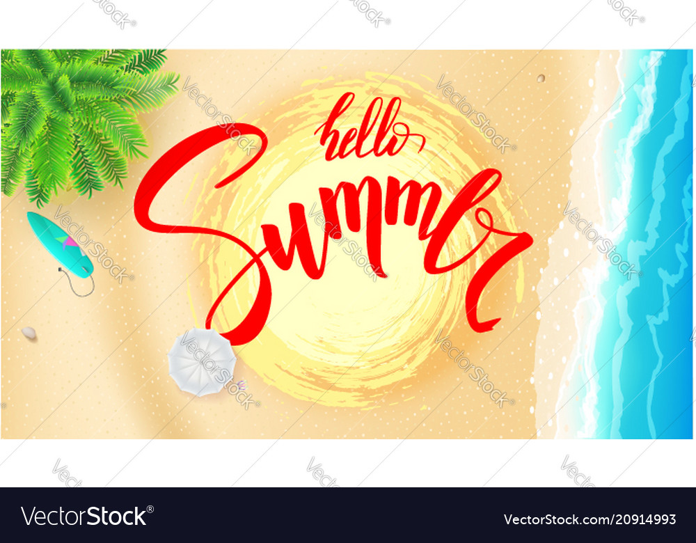 Summer beach seashore for touristic events travel