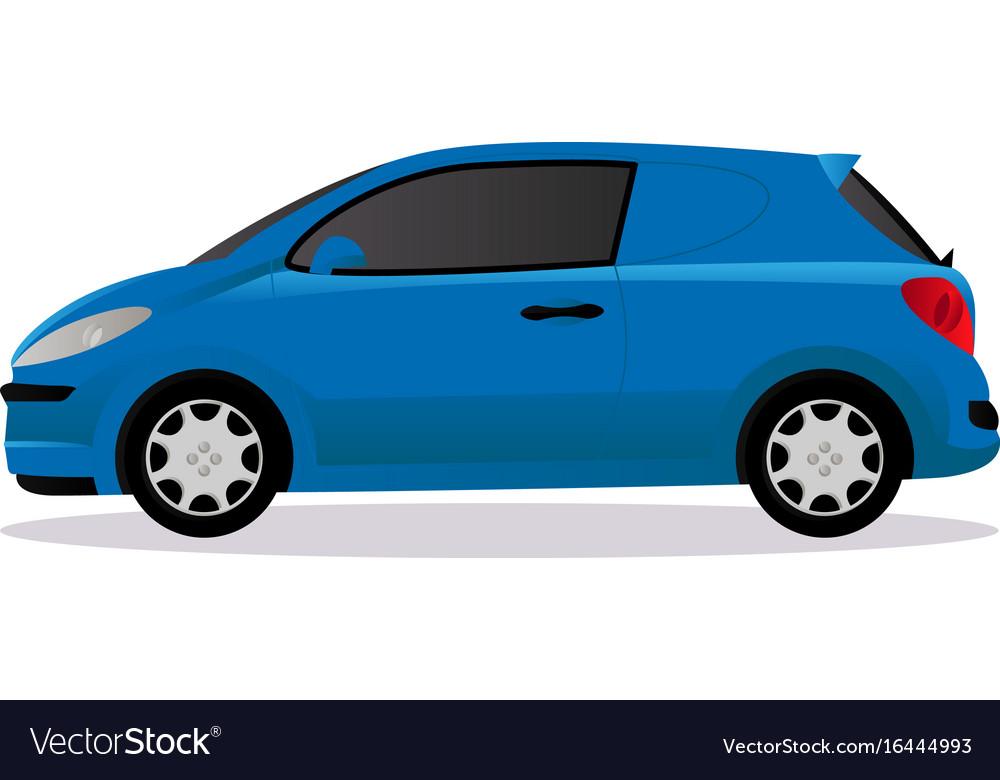 Van car body type