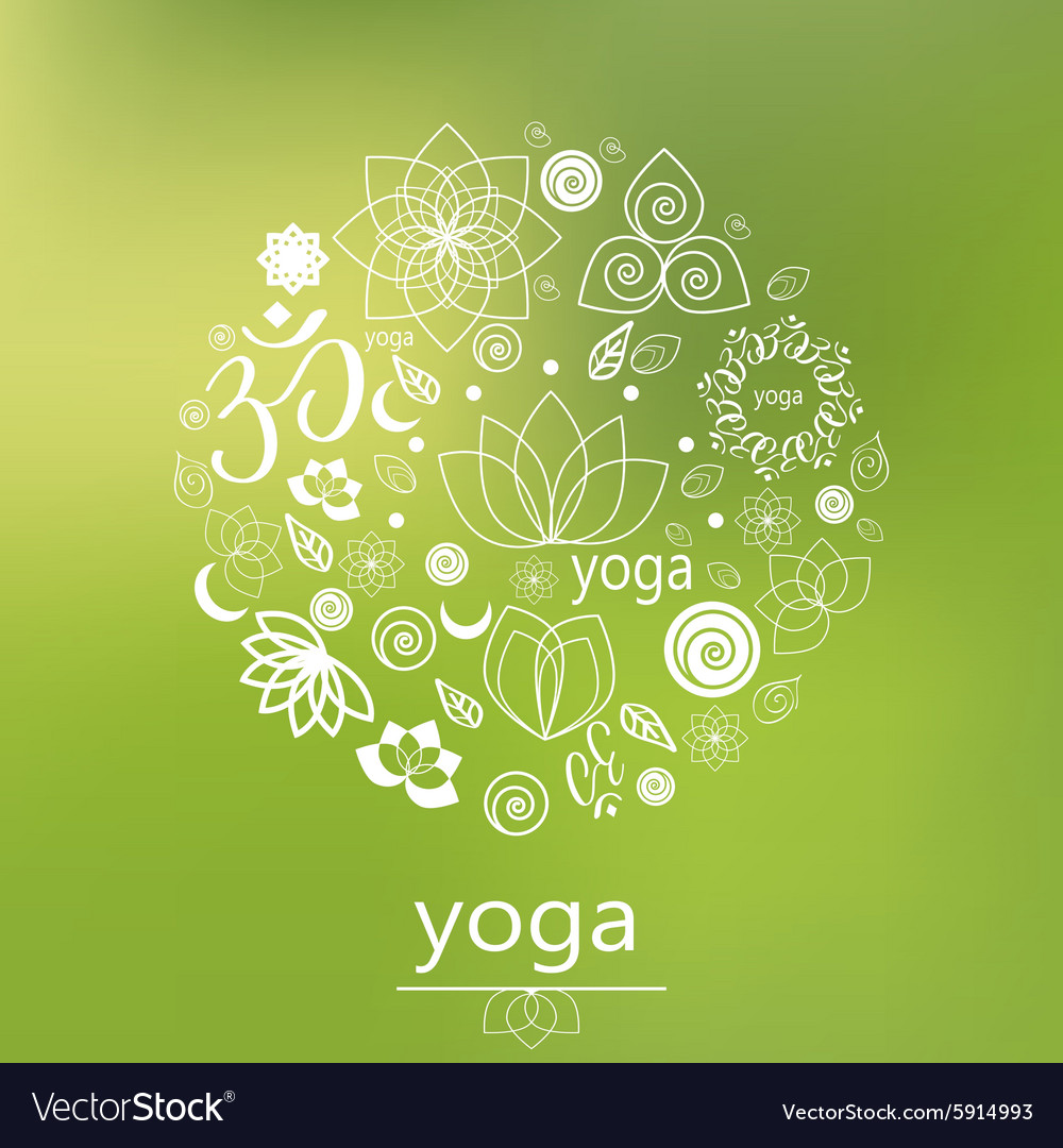 Yoga logo in green