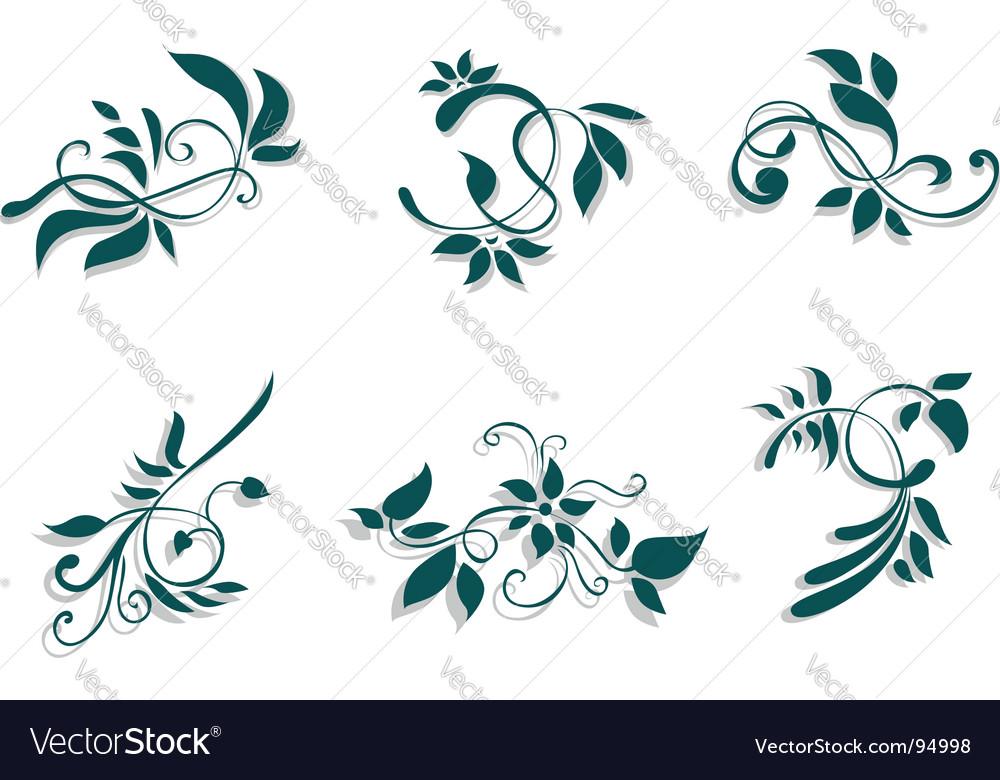 Flourish decorations