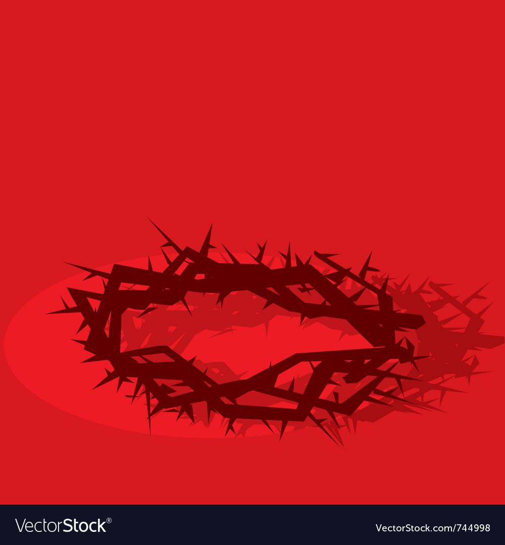 Jesus pain vector image