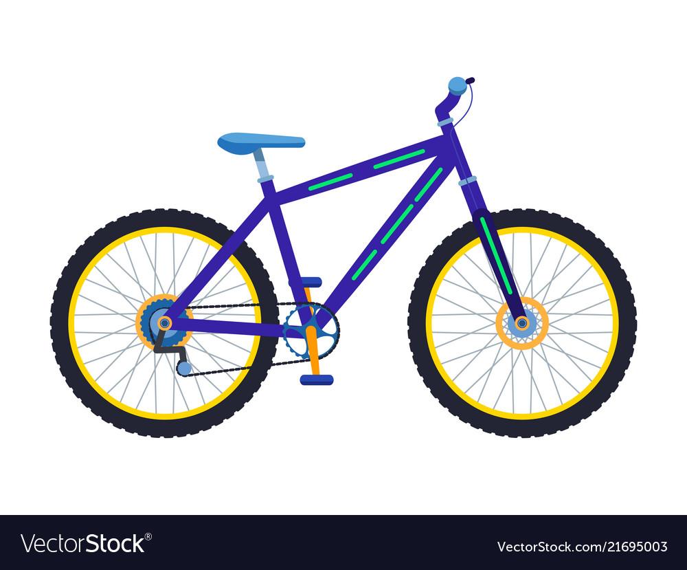 A sport mountain bike