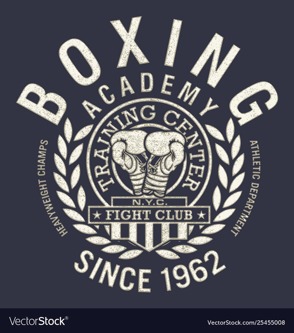 Fight club boxing gym academy