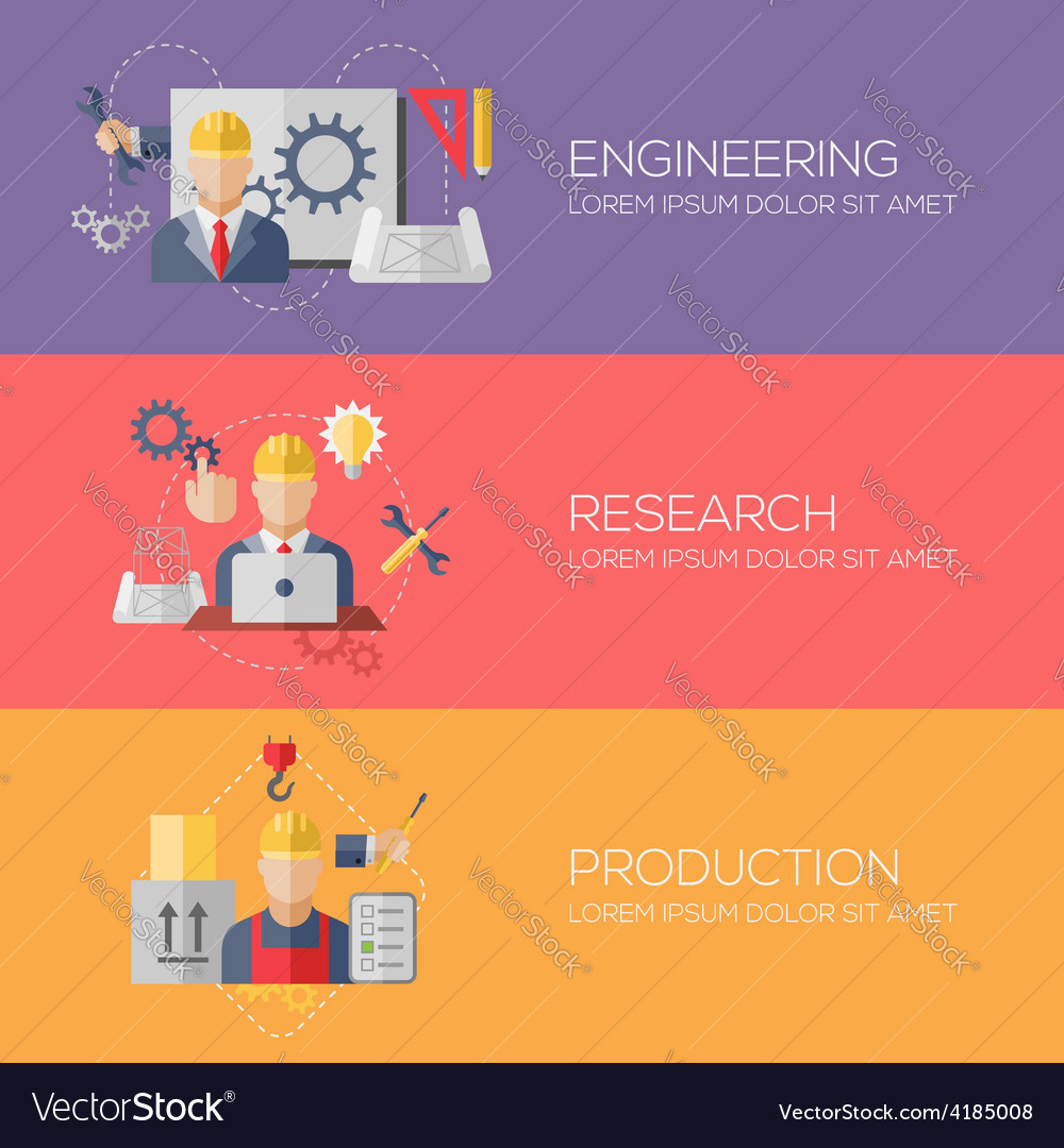 Flat design concepts for engineering research