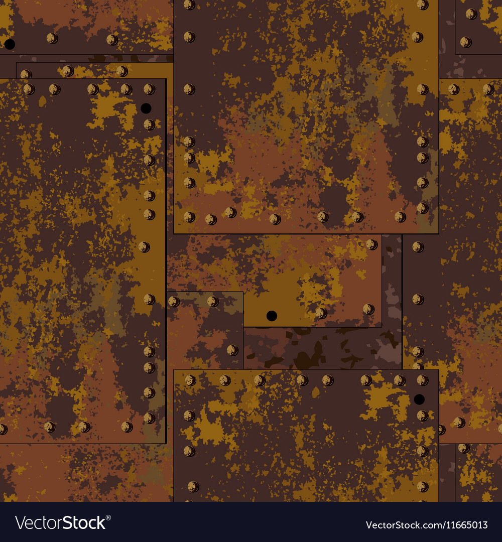Rust plate background