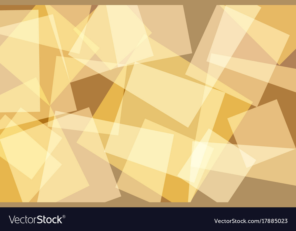 Orangeyellow gold square abstract background