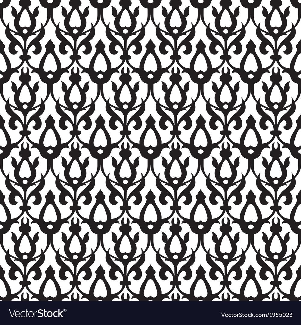 Vintage Background Traditional Arabic Motifs vector image