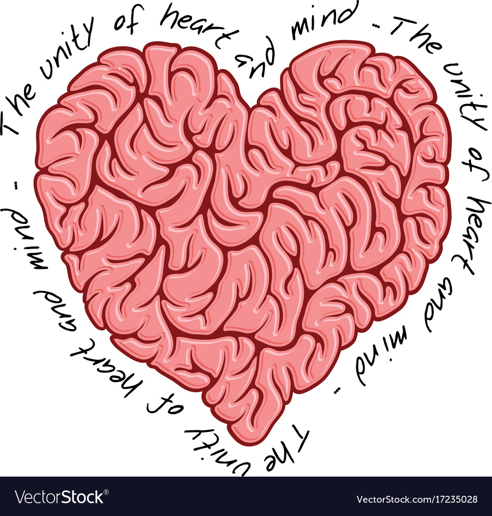 Brain logo design template print concept