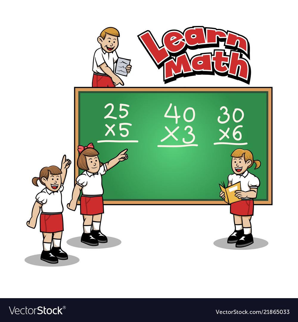 Learn math at elementary school