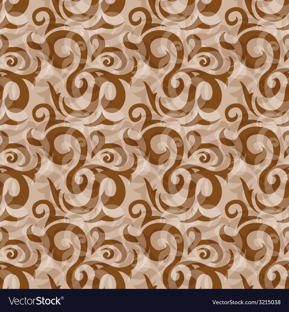 Seamless brown pattern
