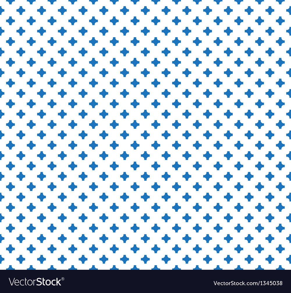 Vintage Abstract Cross Seamless Pattern vector image