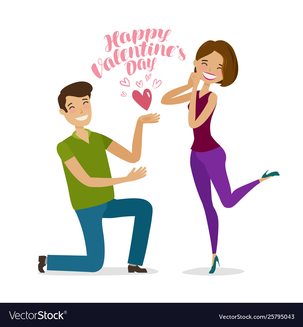 Happy valentine s day greeting card or banner
