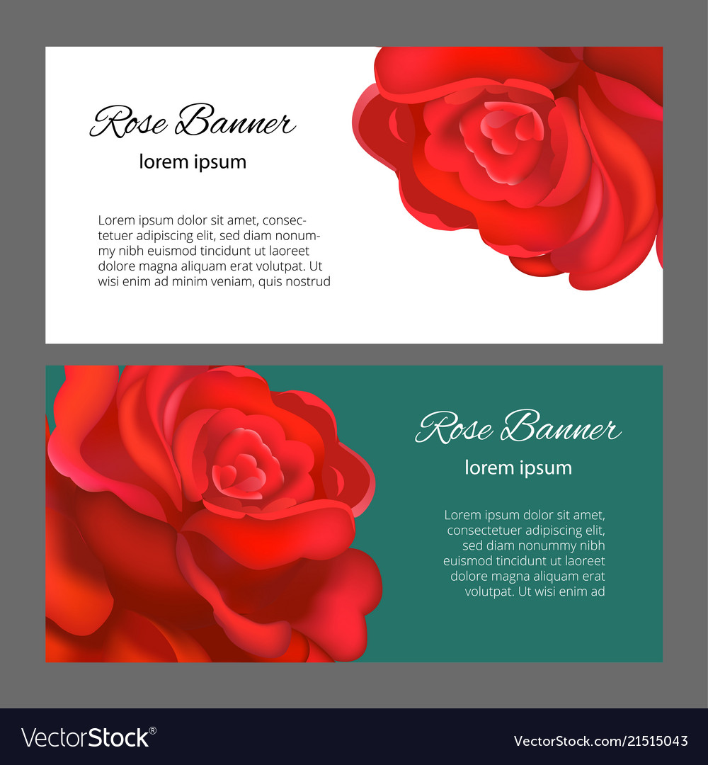 Wedding card or invitation with abstract floral