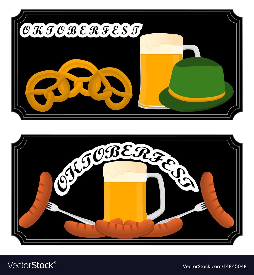 Logo for bar banner oktoberfest
