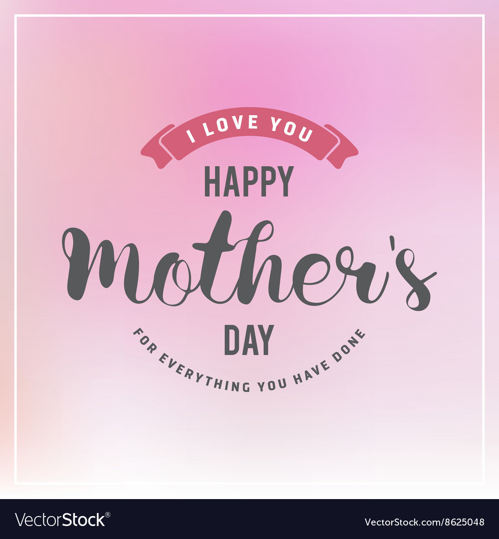 Mothers day badges and labels design for greeting