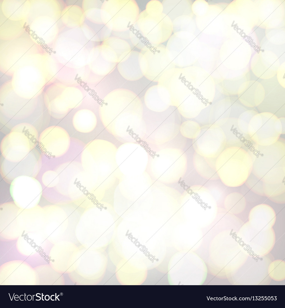 Abstract background with defocused bokeh circles