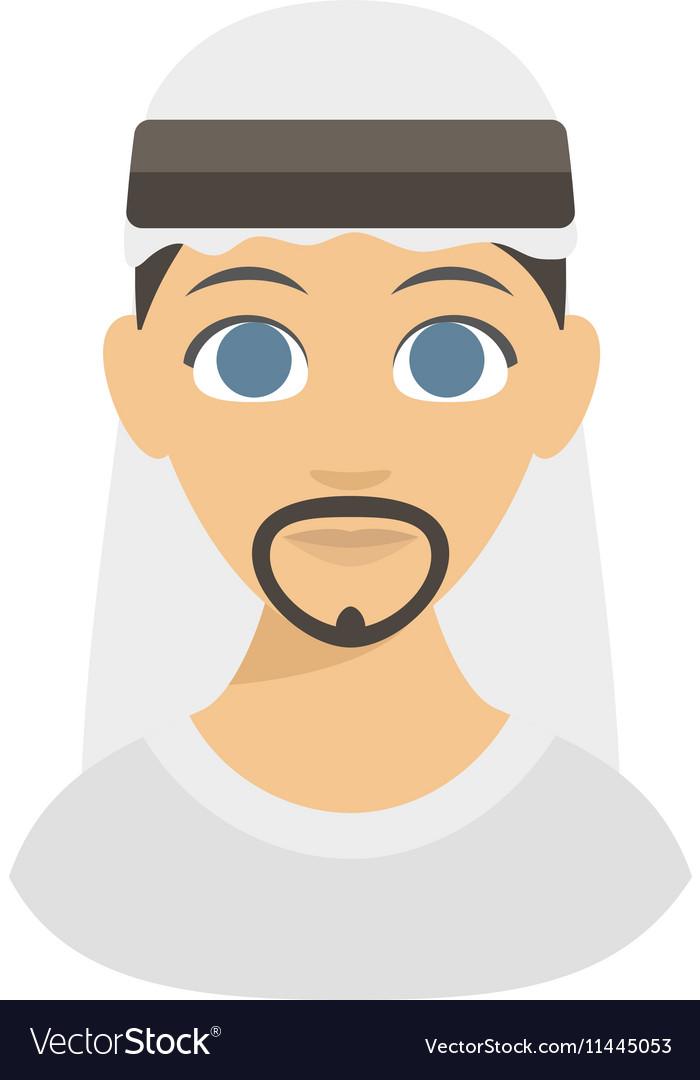 Arabic man face