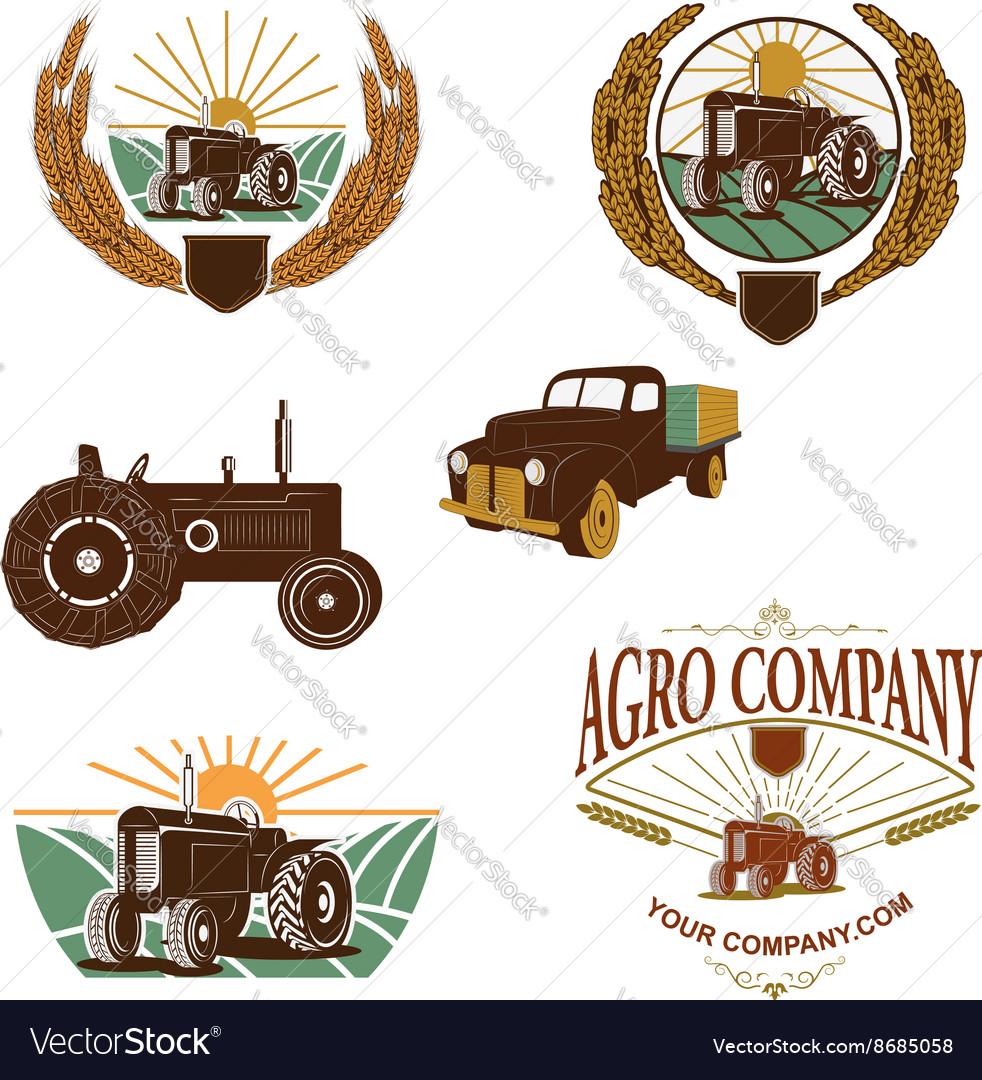 Agro company logo template
