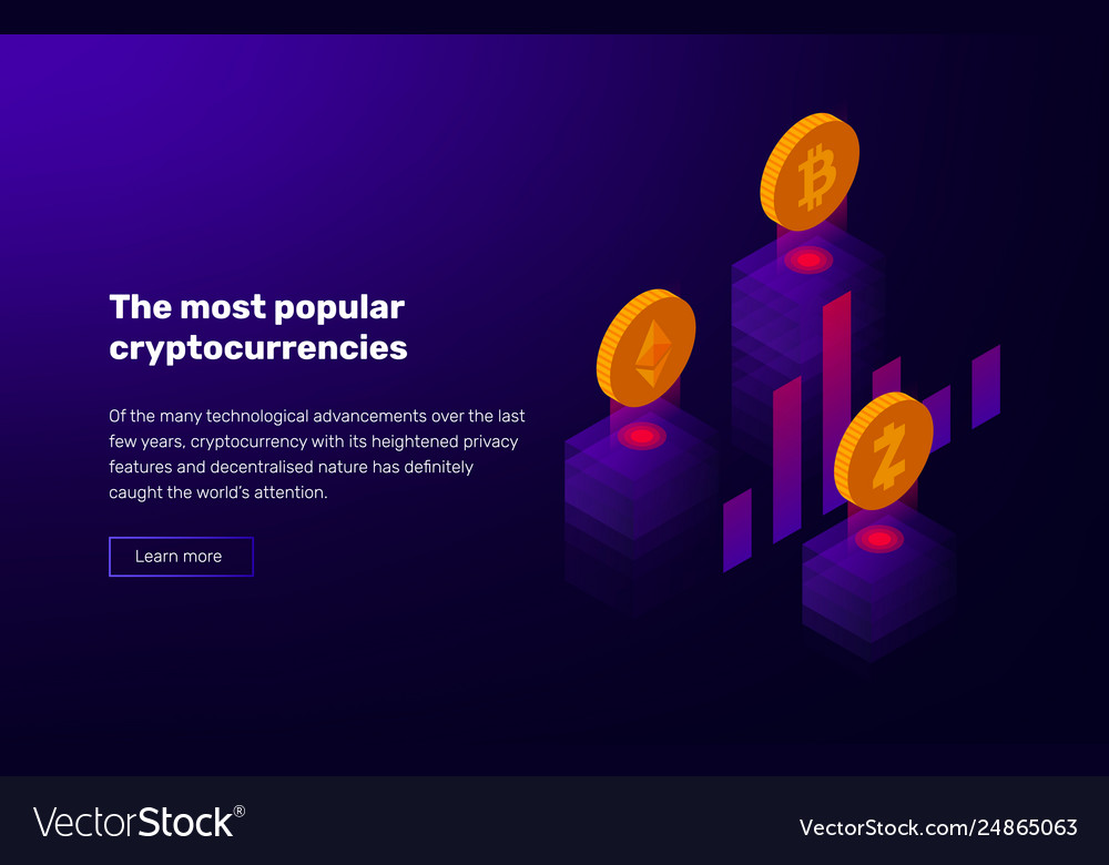 Popular cryptocurrency