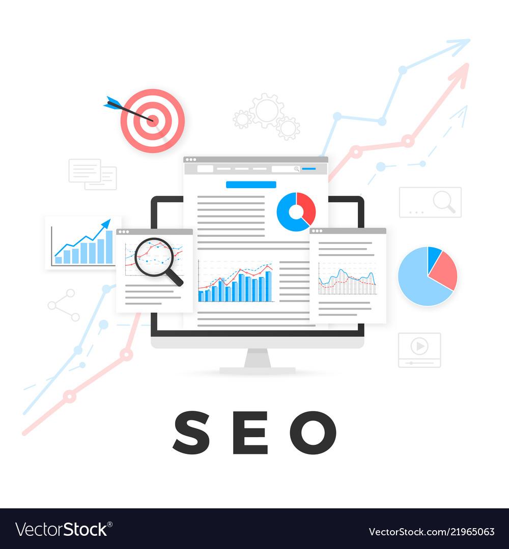 Seo optimization concept search engine