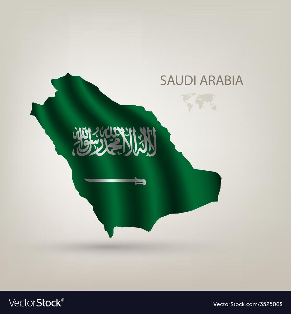 Flag of Saudi Arabia as the country