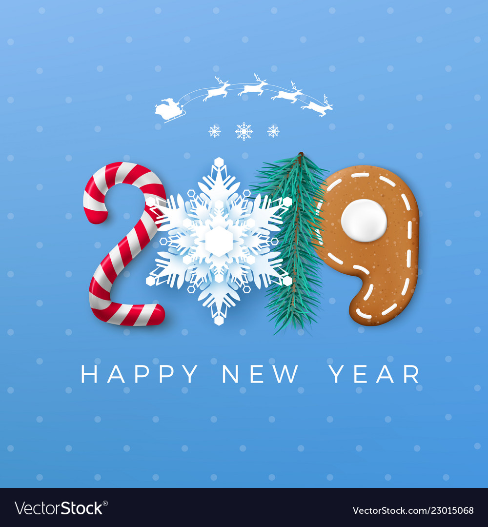 Happy New Year Greeting Card 100