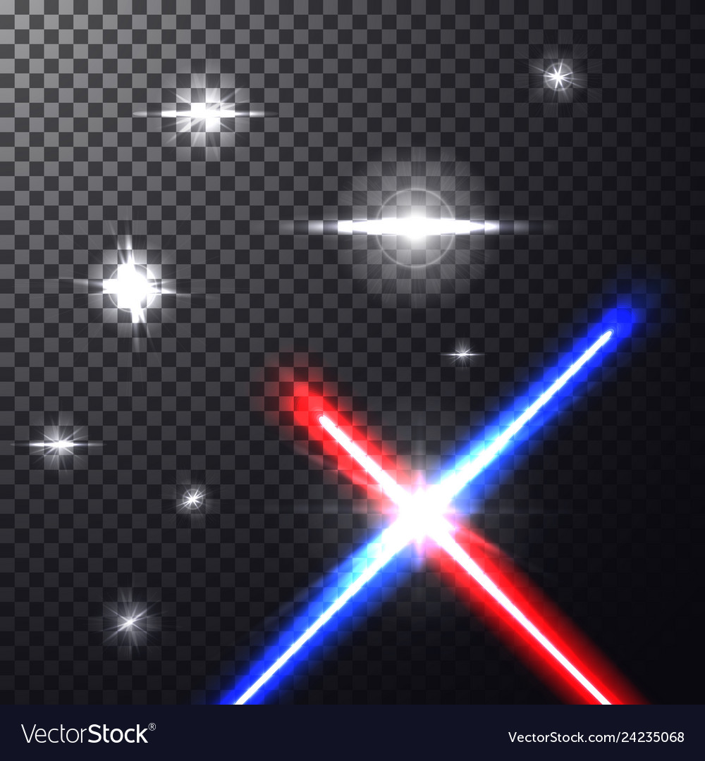Laser beams with stars