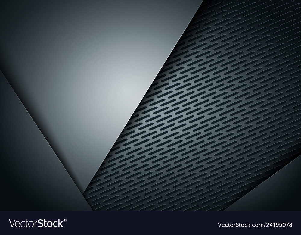 Abstract background dark and black metal carbon