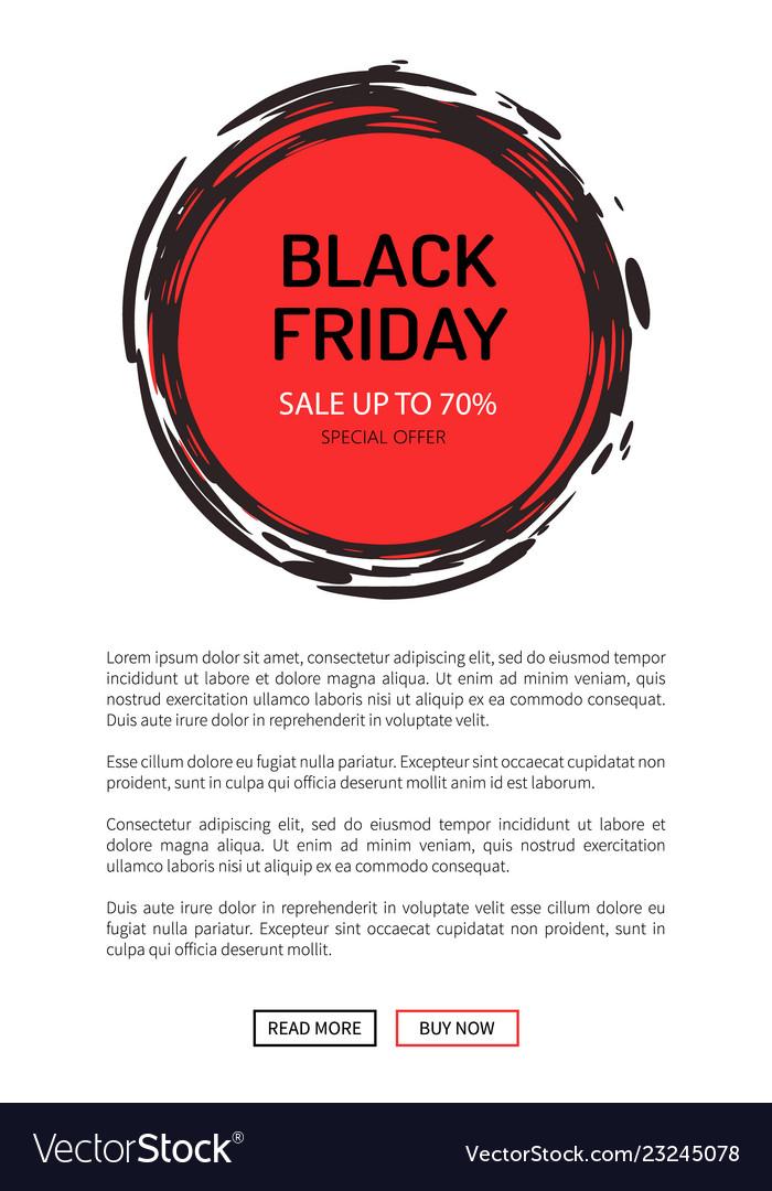 Black friday sale on 25 november 2018 save tag