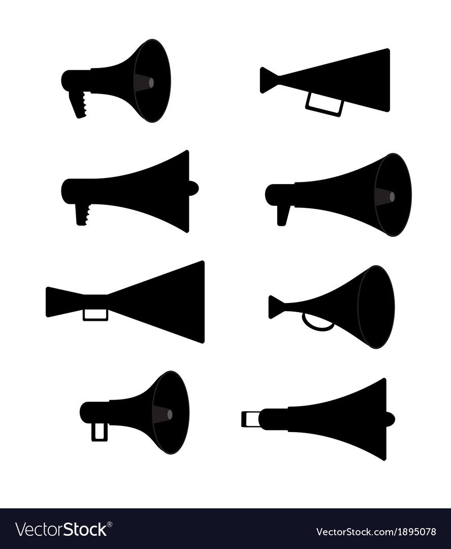 Horn Silhouette Set