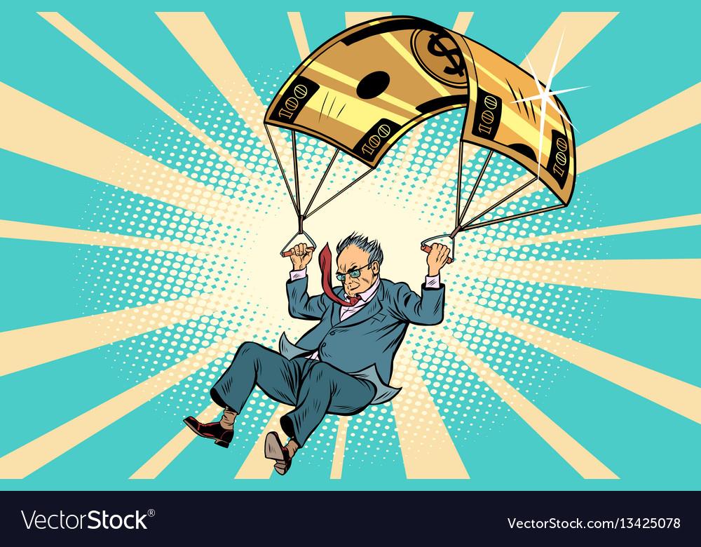 Senior citizen golden parachute financial
