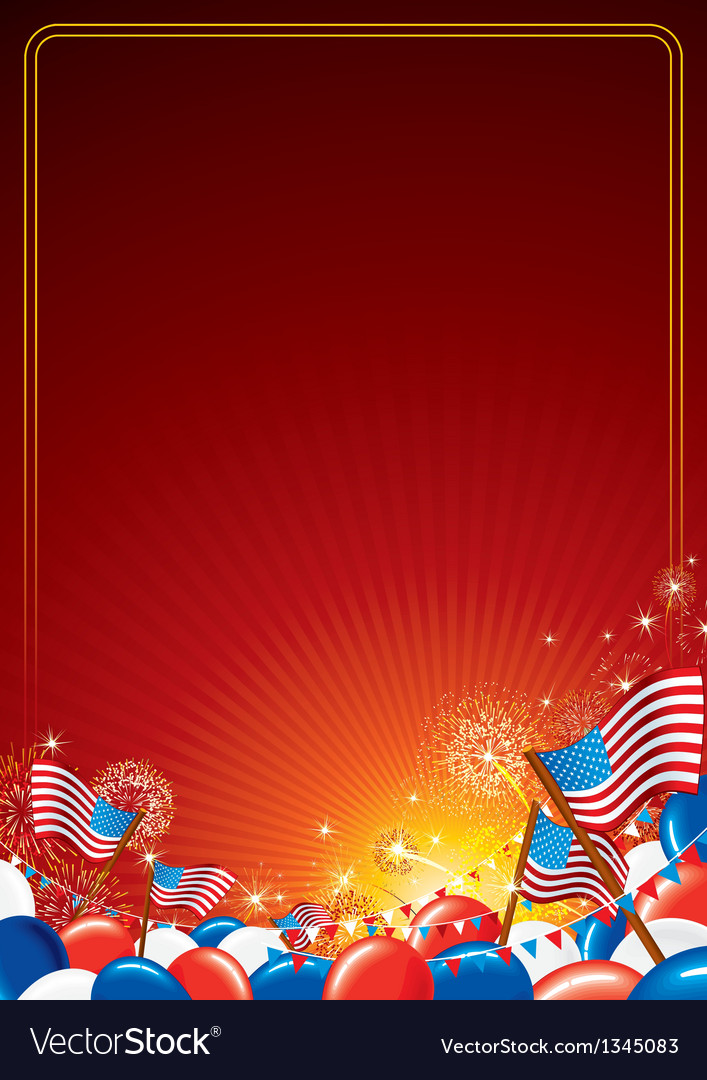 American Celebration Background