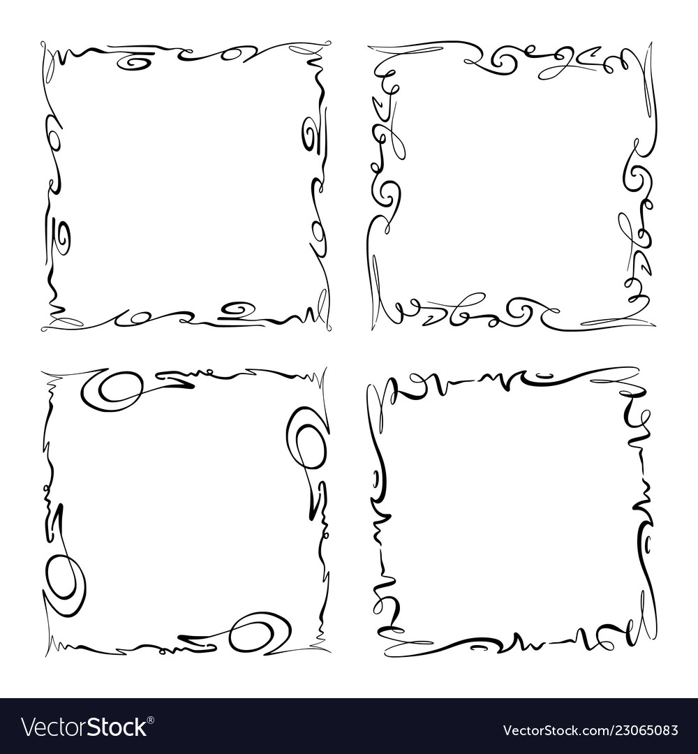Collection of frames rectangles for image