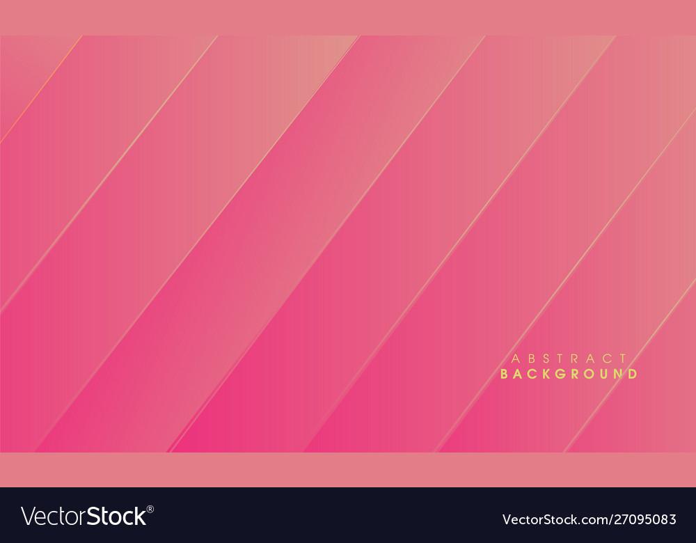 Modern abstract golden pink background