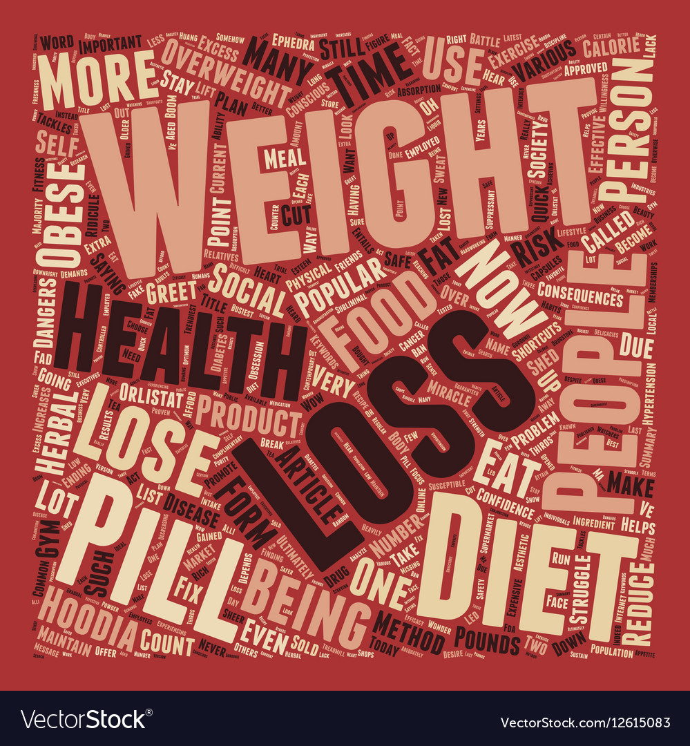 No Shortcuts to Health and Weight Loss text vector image