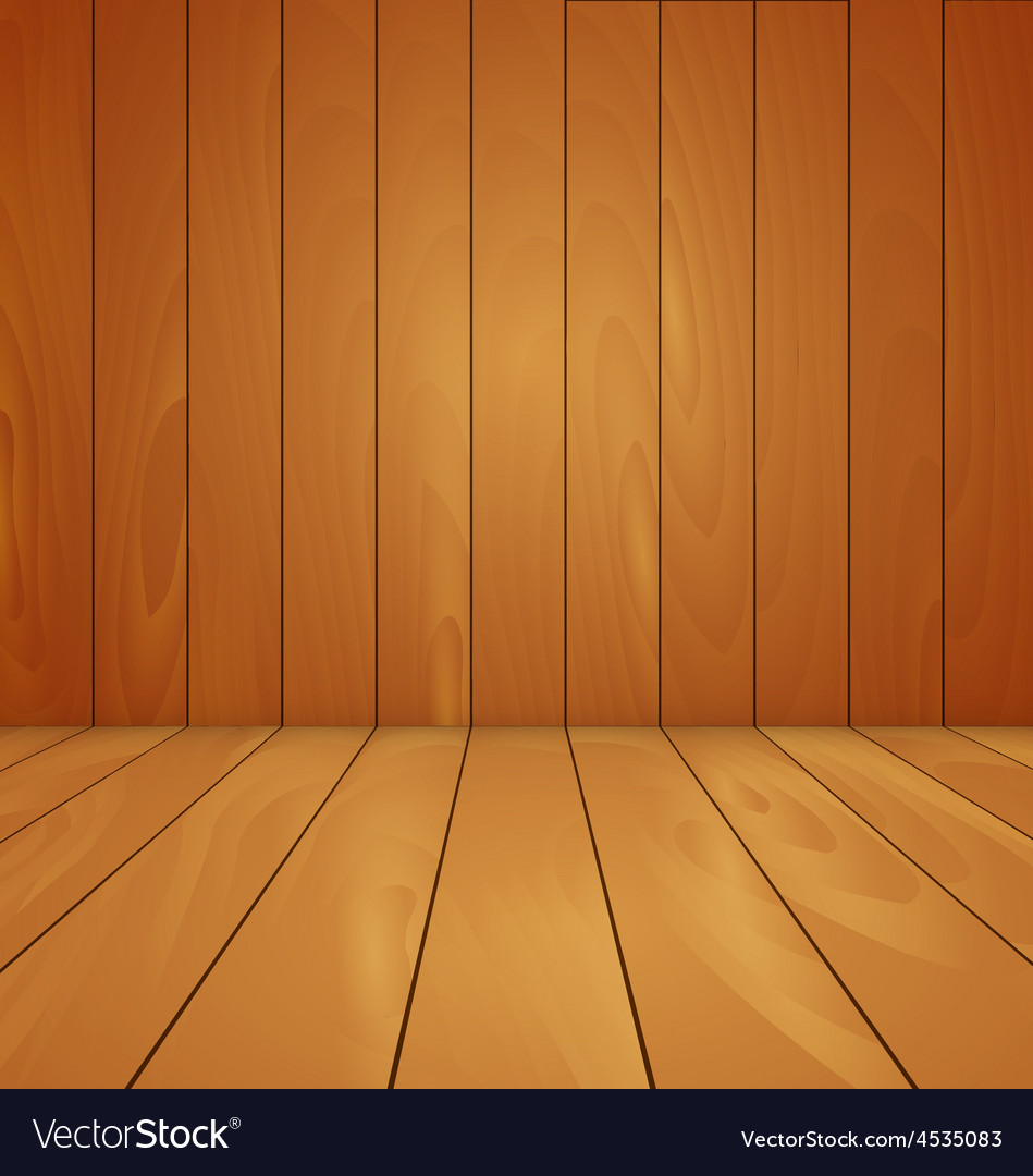 wood floor and wall background. Wood Floor And Wall Background Vector Image Wood H