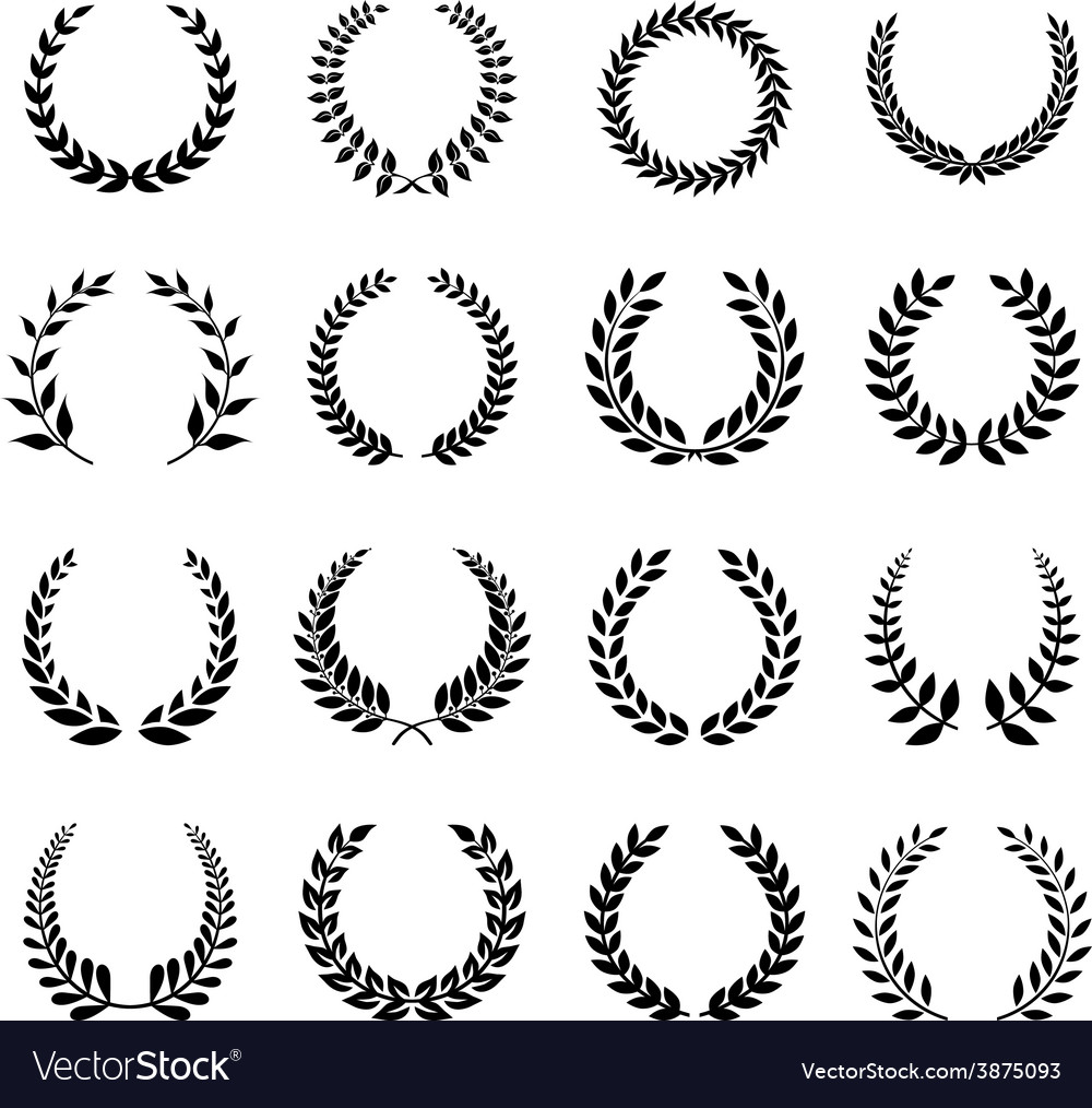 Laurel Wreath Royalty Free Vector Image - VectorStock