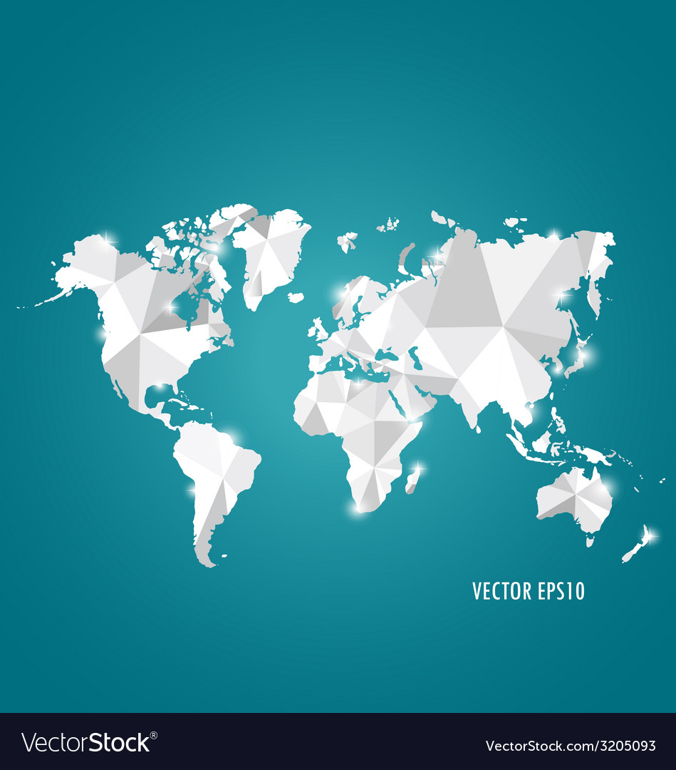 Modern world map design royalty free vector image modern world map design vector image gumiabroncs Images