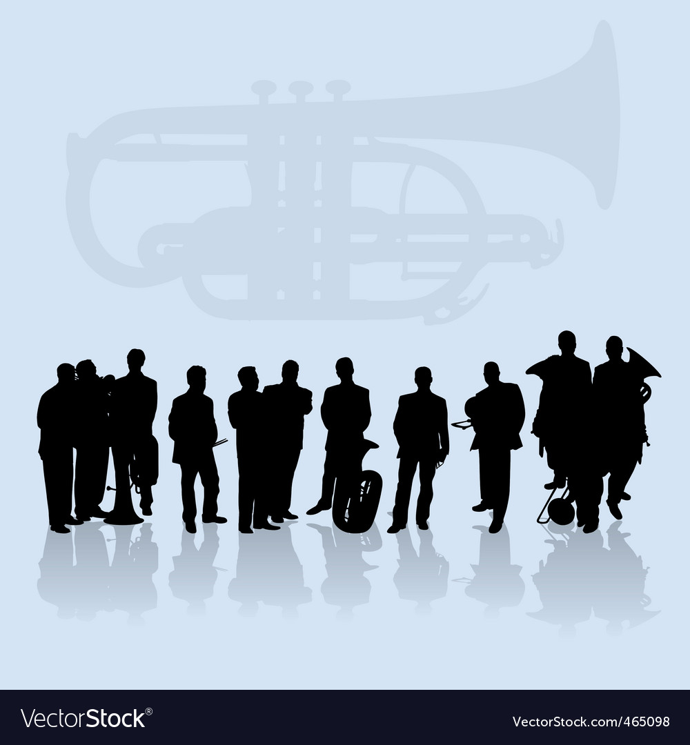 Brass vector image